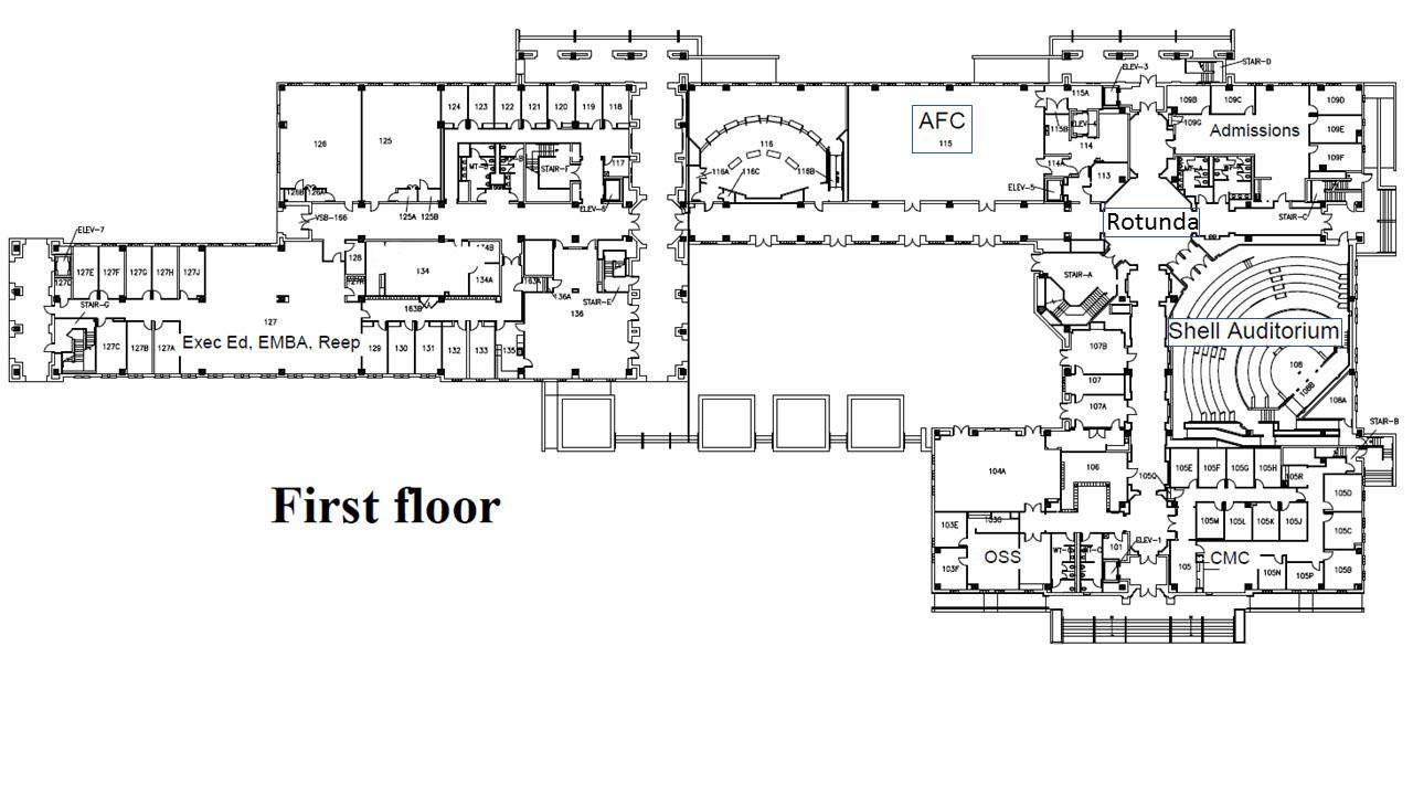 McNair Hall Map