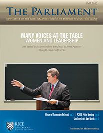 Accounting Newsletter Fall 2012
