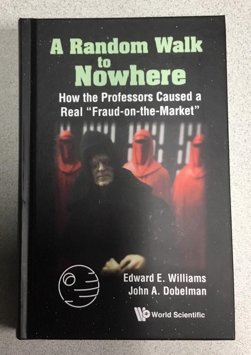 """A Random Walk to Nowhere"" book cover"