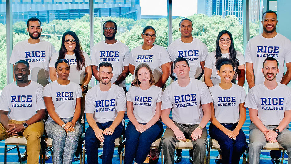 Diversity at Rice Business