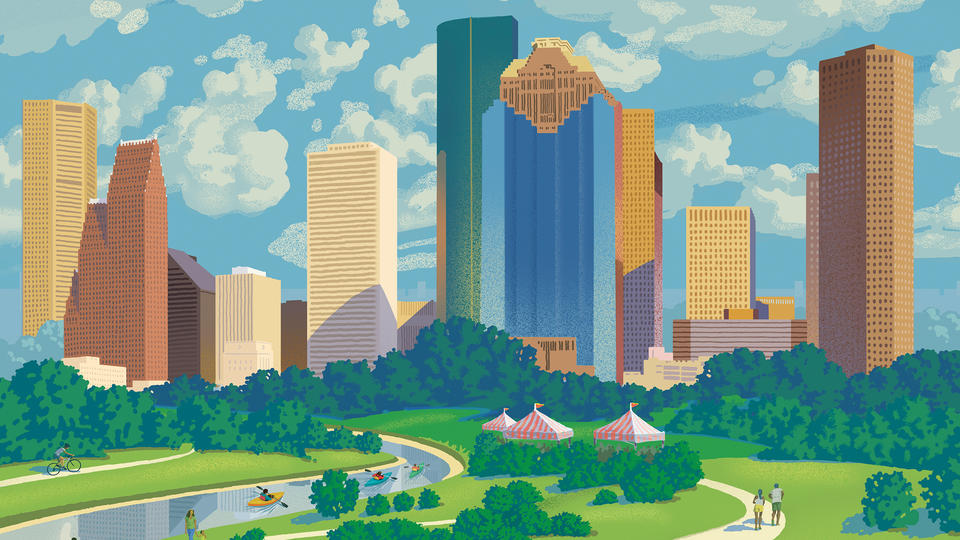 Urban renewal and the greening of Houston