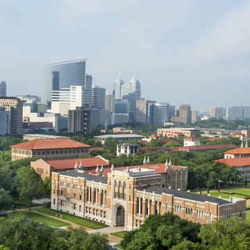 Rice-University-Aerial-View