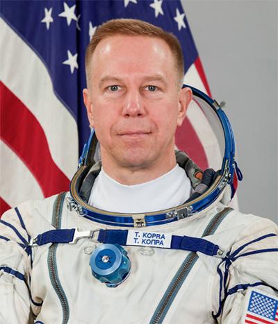 former U.S. Army pilot and NASA Astronaut, Colonel Tim Kopra