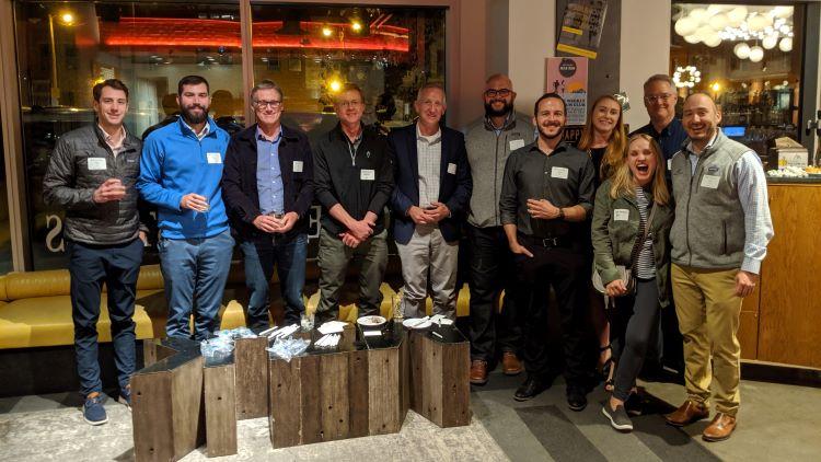 Denver alumni at Denver Milk Market
