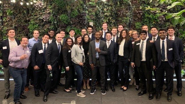Students and alumni in NYC