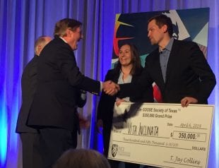 $350,000 GOOSE Society Investment Grand Prize – Vita Inclinata Technologies, Mitchell Hamline School of Law